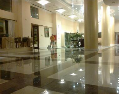 Γυάλισμα μαρμάρων Grand Hotel